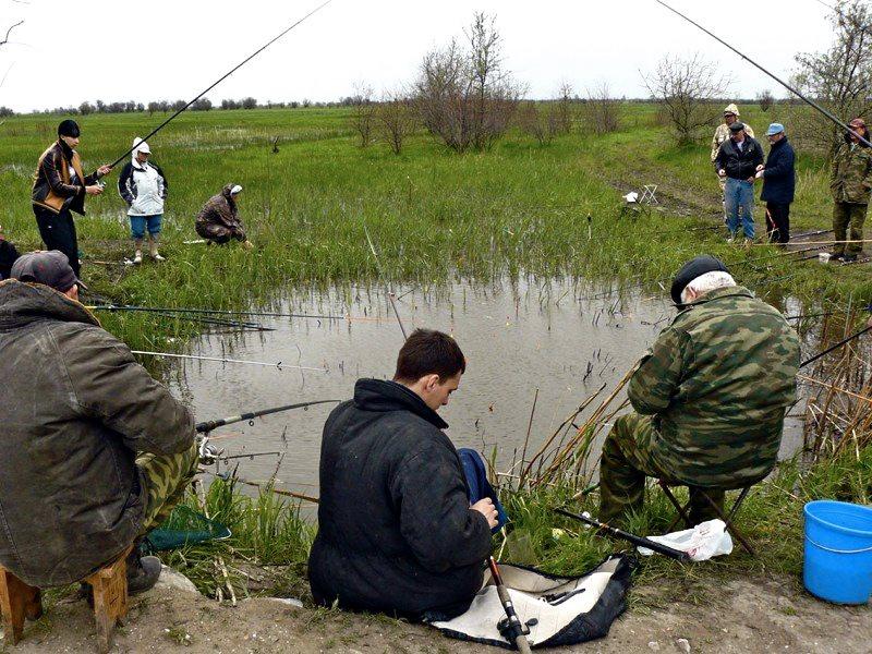 Друзья знают, как уговорить остаться на рыбалке!