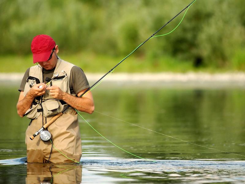 Ну очень здорово съездили на рыбалку!