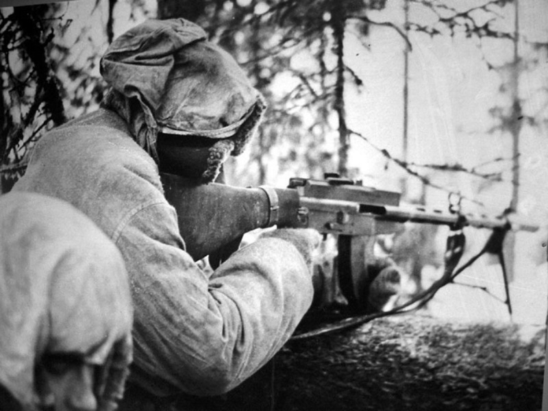 Финский солдат унижает русских в бою, но в конце было вообще нереально!