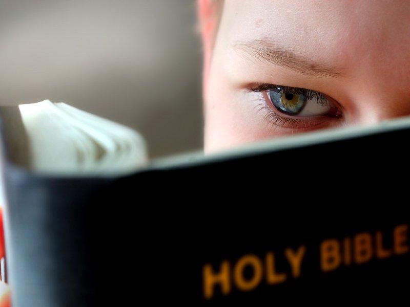 Маленький мальчик находит неожиданный объект в Библии, но его реакция – это нечто!