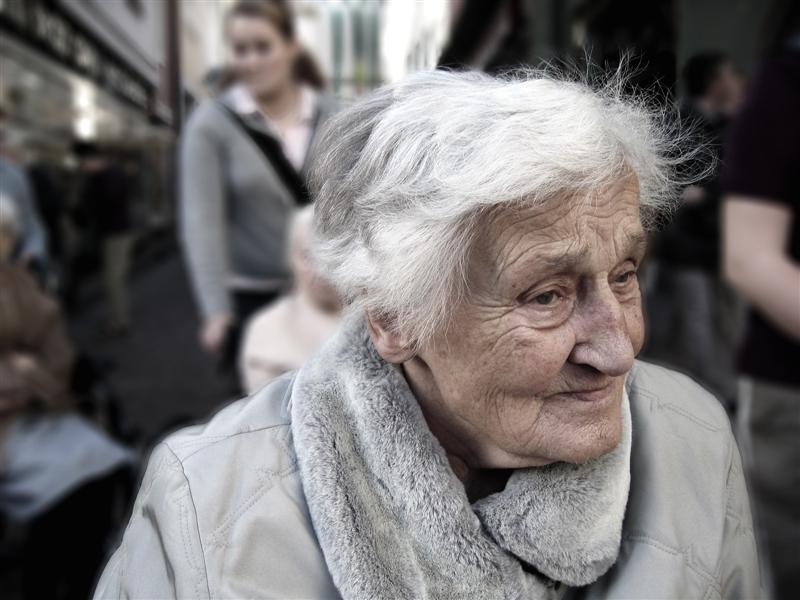 Бедная бабушка очень сильно этому испугалась!