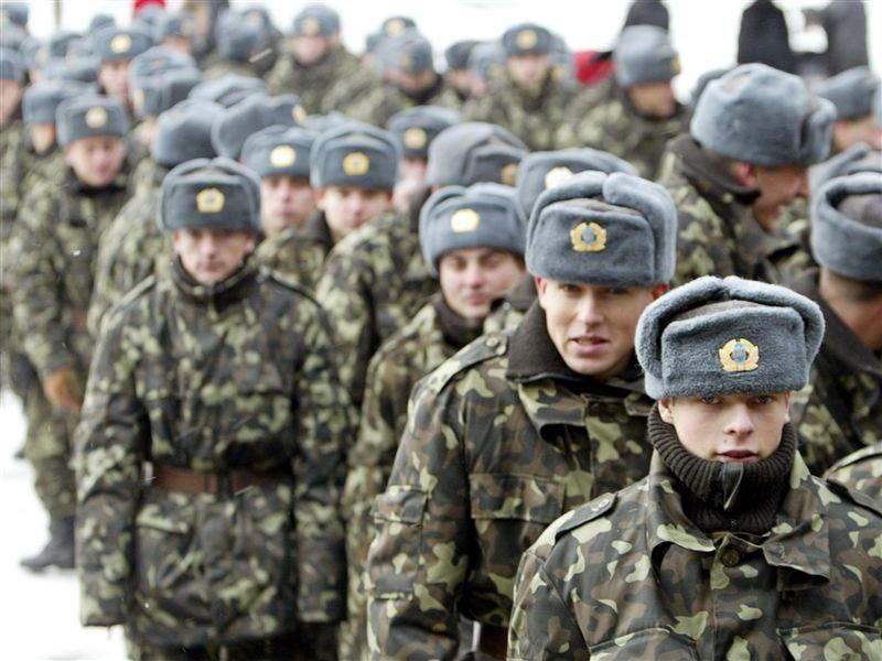 В тот момент солдаты очень сильно испугались!