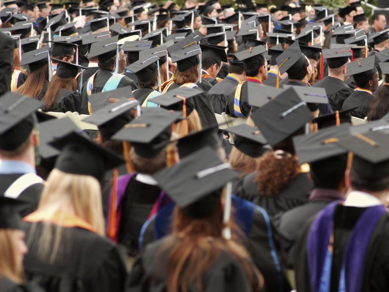 Студенты шокировали всех, сделав это на церемонии вручения дипломов. Это было гениально!