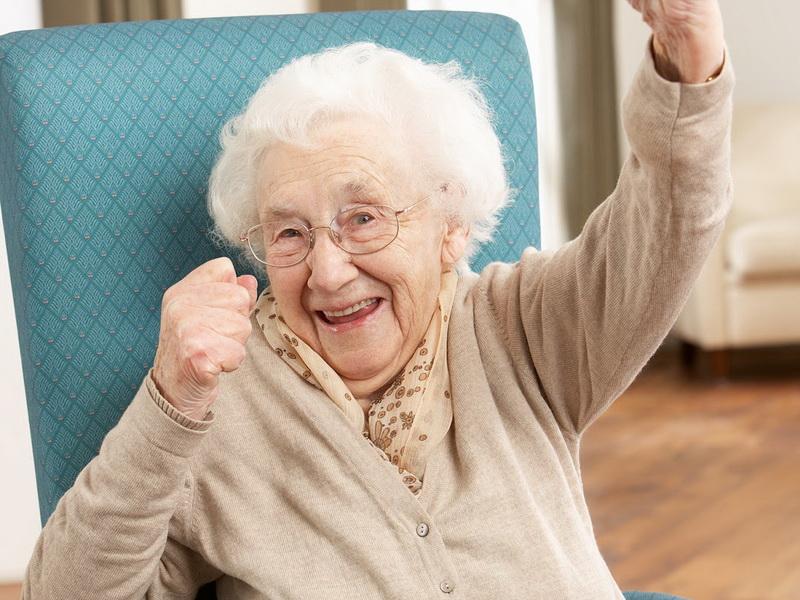 Бабуля очень удивит вас своими умениями!