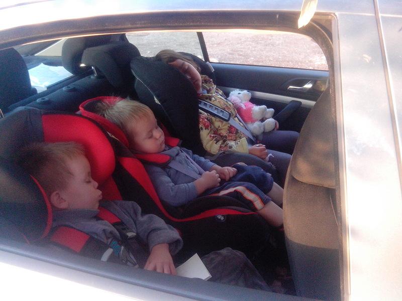 Они хотели сэкономить и остались ночевать в машине, когда подошел полицейский!