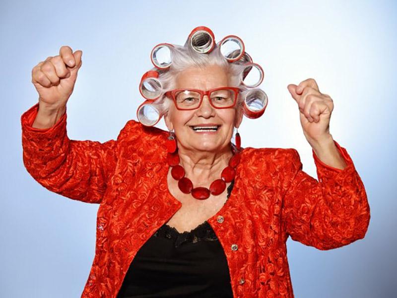 И такие вот бывают интересные бабули!