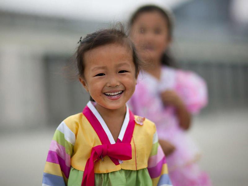 Для азиатских детей представление русской внешности немного другое!
