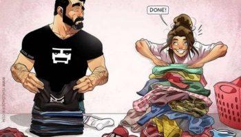 Художник из Израиля рисует комиксы о семейной жизни. А скоро к этим фото ещё и ребёнок добавится!