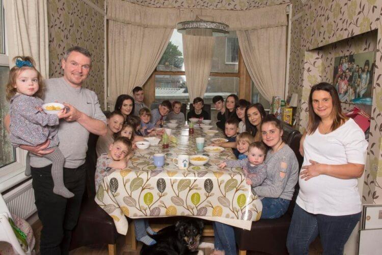 42-летняя женщина на днях родила своего 20-го малыша