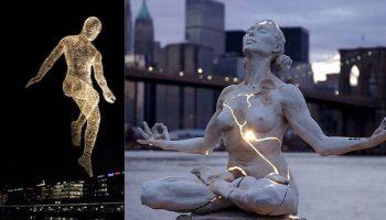 10 Фантастических скульптур, которые неподвластны законам физики