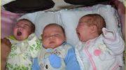 На выписке мы шутили — родила дочку, а домой с тремя малышами уходит!