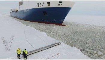 История из жизни: Финский моряк садится на движущийся корабль