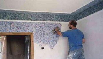 Делаем «жидкие обои» на стенах своими руками. Идея точно на миллион…