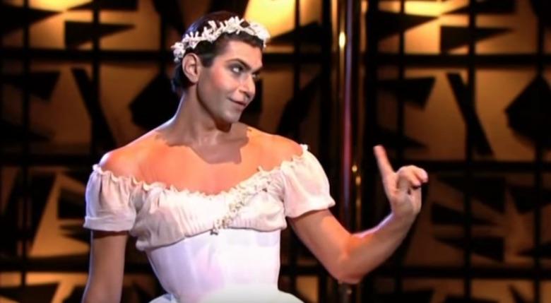Фрагмент из балета «Светлый ручей»: Николай Цискаридзе шутит