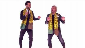 Приставучая, заводная, японская песня и ее пародия в исполнении Урганта и Баскова
