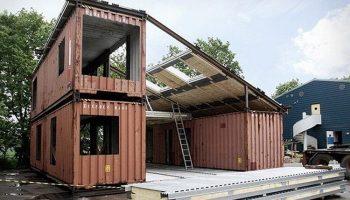 Люди просто взяли 3 контейнера и построили дом, интерьер которого восхищает!