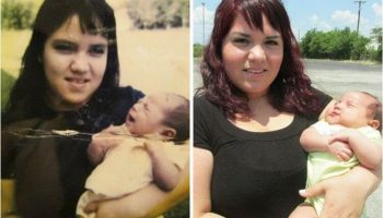 Семейных фото, которые указывают на чудеса наследственности