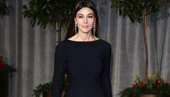 10 «маленьких» чёрных платьев Моники Беллуччи, которые просто восхищают