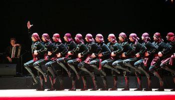 Шедевральное видео от лучшего ансамбля народного танца «Сухишвили»
