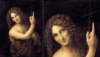 На картине «Иоанн Креститель» да Винчи нашли тайное изображение инопланетян