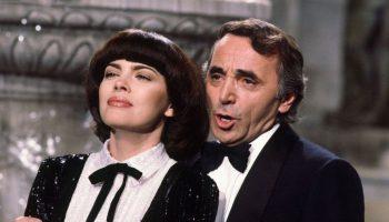 Завораживающая и красивая «Вечная любовь» — Мирей Матье и Шарль Азнавур