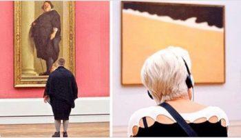Фотограф много лет тайком снимал «правильных» посетителей музея — и вот зачем