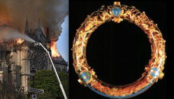 Главная новость дня: Хранимые в Нотр-Даме реликвии спасены