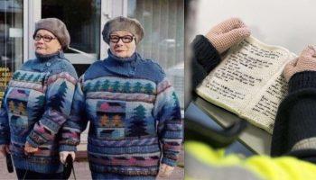 7 работ художницы из Финляндии, которая может вязать людей и даже целые дома