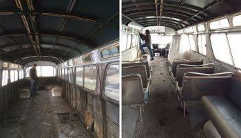 Девушка купила старый мертвый автобус за копейки. Затем она создала из него хоромы!