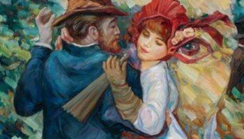 Считаешь, что это обычная танцующая Пара? — А вот и нет! ОТКРОЙ КАРТИНКУ