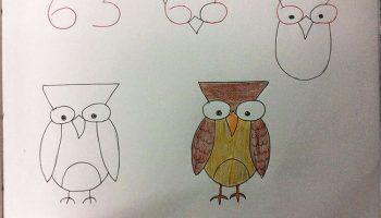 Как научиться рисовать самому и научить ребенка рисовать с помощью цифр