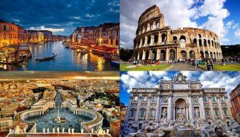 «Горячую» Италию назвали страной №1 по красоте Планеты. Вот еще 9 стран этого рейтинга