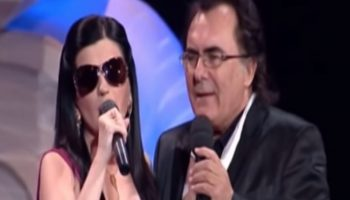 Весьма интересный дуэт: Диана Гурцкая и Аль Бано с нежной песней «Bambini»