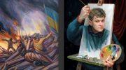 Работы этого талантливого украинца покорила сердца ценителей искусства со всего мира