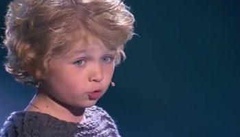 Владимир Высоцкий в исполнении талантливого 7-летнего мальчика. До слез!