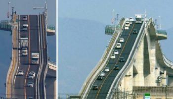 Американские горки отдыхают: Самый страшный мост в мире