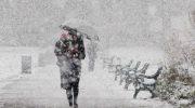 Синоптики сообщила: зима будет самой серьезной и затянувшейся за последние 100 лет