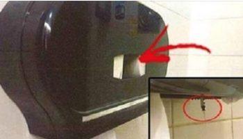 Важно! Прочтите! Остерегайтесь распределителя салфеток в туалетах