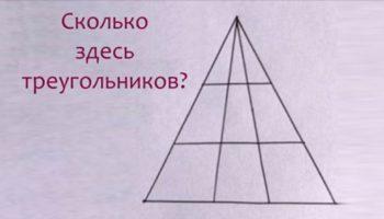 Мир сходит с ума: Никто не может посчитать, сколько здесь треугольников?