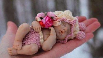 Прекрасные куколки из запекаемого пластика Елены Кириленко