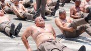 Полицейских с лишними килограммами отправляют в спец «лагеря для похудения»