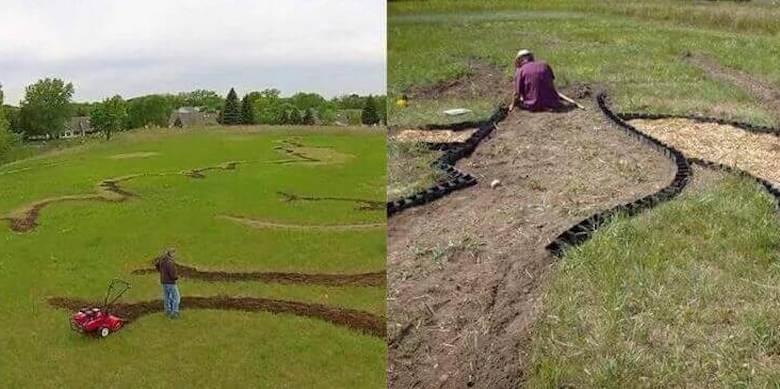 Он 6 месяцев вскапывал свое поле. Соседи думали, что просто пенсионер сошел с ума