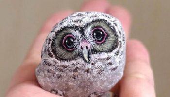 Это просто волшебство: Талантливая Японка превращает камни в прекрасных животных