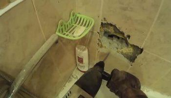 """""""В 2 часа ночи мы били стены перфоратором – пока это чудо не выпало прямо в ванну!"""""""