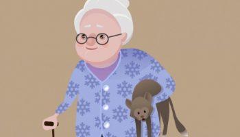Просто Уморительный анекдот про бабушку и три её самых заветных желания