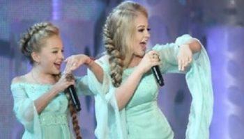 2 сестры из Одессы покорили зал, спев легендарную песню на шоу талантов