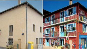 Талантливый Француз ищет «серые» дома и превращает их в настоящие достопримечательности