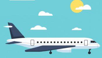 Летят в самолёте 2 умнейших математика, у одного из них сильная аэрофобия…