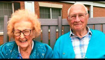 «Никогда не поздно»: история пары, поженившейся в возрасте 100 и 103 года