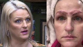 Мастер сделал женщине 4 брови без денег и был возмущен, что клиентка осталась недовольна результатом